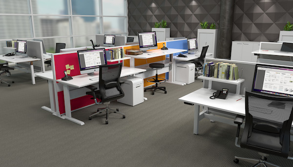 commercial office workstation melbourne